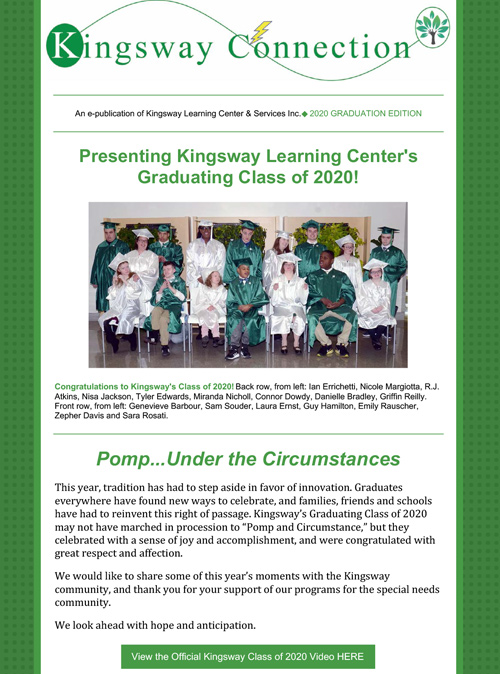 Graduation 2020 Edition