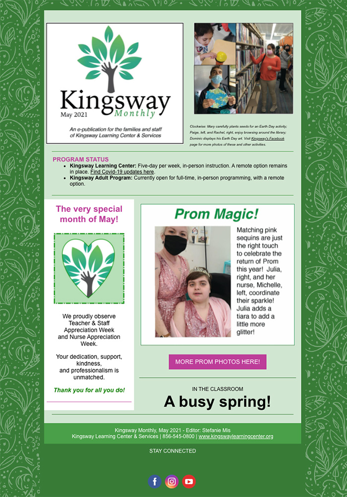 Kingsway Monthly